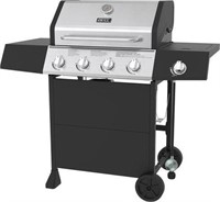 BACKYARD GRILL 4 BURNER GAS GRILL  WITH SIDE