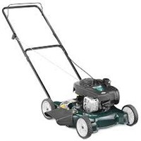 BOLENS PUSH LAWN MOWER WITH BRIGGS AND