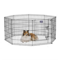 """MIDWEST FOLDABLE METAL EXERCISE PEN 24"""" X 30"""""""
