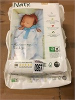 ECO BY NATY DIAPERS SIZE N 104PCS