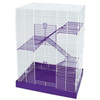 CHEW PROOF 4 STORY HAMSTER CAGE (USED)