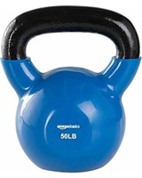 AMAZONBASICS KETTLEBELL WEIGHT LIFT 50LB