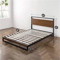 ZINUS WOOD BED FRAME KING