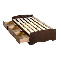 TWIN EXTRA LONG STORAGE BED