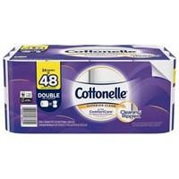 COTTONELLE 48 DOUBLE ROLL TOILET PAPER