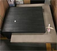 "CONCRETE SLATE LIVING ROOM TABLE  47.5L X 47.5W"""