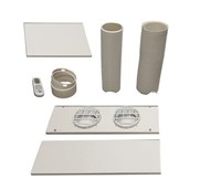 WHYNTER PORTABLE AIR CONDITIONER WINDOW KIT