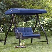 HOMETRENDS 2-PERSON PATIO SWING (MISSING PARTS)