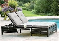 HOMETRENDS CHAISE LOUNGE DOUBLE(NOT ASSEMBLED)