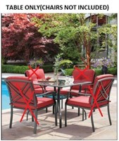 MAINSTAS MONTCLAIR DINING SET TABLE ONLY