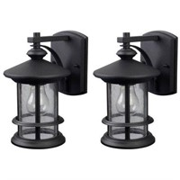 TWIN PACK OUTDOOR WALL LANTERN