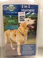 LARGE PETSAFE 3 IN 1 HARNESS