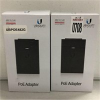 UBIQUITI NETWORKS POE ADAPTER 2 PIECES