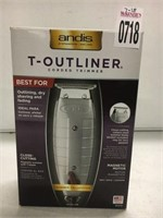 ANDIS T-OUTLINER CORDED TRIMMER