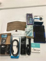 ASSORTED CELLPHONE ACCECORIES ITEMS