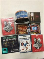 ASSORTED CD'S/DVD'S ITEMS