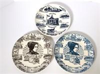 (3) Salem OH Plates