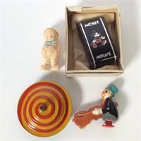 4 pc. Vintage Toys, Kid's Items