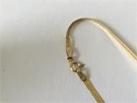 "14k Yellow Gold Chain  24"" long"