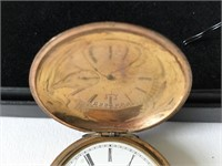 Ladies Elgin Gold Filled Pocket Watch