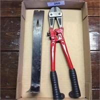 "14""  Chain Cutter, Flat Bar"