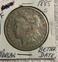 February Coin Auction: Morgan Dollars & More!