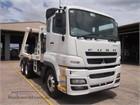 Fuso FV54 Skip Bin Truck