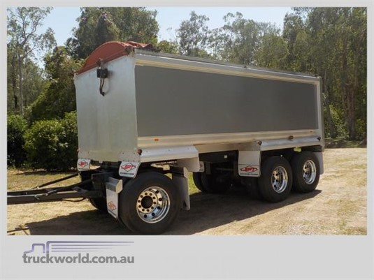 2004 Borcat Alloy Tipper Steve Penfold Transport Pty Ltd - Trailers for Sale