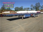 2012 Freighter Flat Top Trailer Semi Trailers