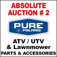 ABSOLUTE AUCTION OF ATV / UTV / LAWNMOWER PARTS # 2