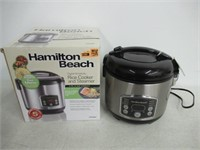 """""""Used"""" Hamilton Beach Rice Cooker And Steamer"""