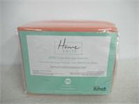 Home Suite 800TC Cotton Rich 6 Pcs Sheet Set Queen