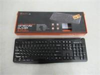 BlackWeb Wireless/Silent Keyboard