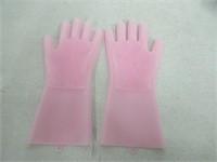 ASIV Magic Silicone Dishwashing Gloves, Reusable