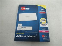 Avery Easy Peel White Mailing Labels for Laser