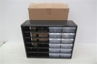 """""""As Is"""" Akro-Mils 10124 24 Drawer Plastic Parts"""
