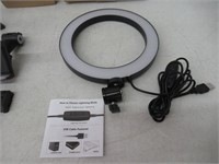 """8"""" Selfie Ring Light with Tripod Stand & Cell"""