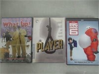 Lot of (10) Various DVD's