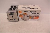 Hamilton Beach Modern Chrome 2-Slice Toaster,