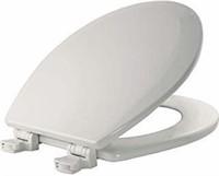 Bemis 500EC000 Molded Wood Round Toilet Seat with