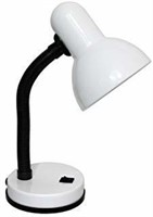 Simple Designs Home LD1003-WHT Desk Lamp, White