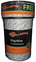 Gallagher G620300 Electric Polywire Fence Combo