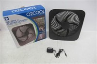 O2COOL FD10002A Portable Fan with AC Adapter
