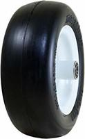 "Marathon 11x4.00-5"" Flat Free Tire on Wheel, 5"""