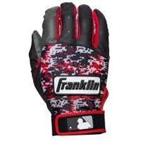 Franklin Sports MLB Digitek Batting Gloves, Adult