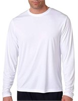 Hanes Men's Medium Long Sleeve Cool Dri T-Shirt