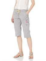 LEE Women's Size 6 Flex-to-Go Relaxed Fit Pull-On
