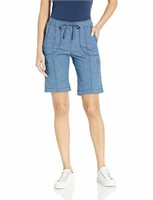 LEE Women's 2 Flex-to-Go Relaxed Fit Pull-On Cargo