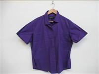FLY HAWK Women's XL/22 Blouse Button Down Dress