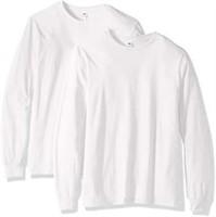 Fruit of the Loom Men's Large Long Sleeve T-Shirt